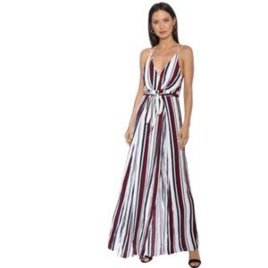 NEW Striped JUMPSUIT Robertson & Rodeo.